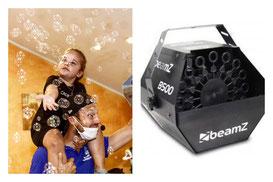 macchina delle bolle per feste per bambini a roma
