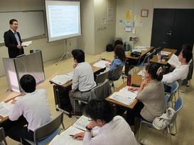 原田講師による講習の様子