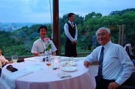 菊池酒造 社長(五代目・右)と専務(六代目・左)