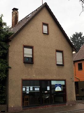 Das Büro des AK Flüchtlingshilfe in der Heilbronner Straße 21