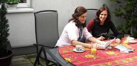 Deutschunterricht mit Einzelschülerin