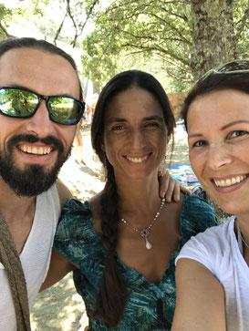 Romana Übelher und Mirabei Ceiba