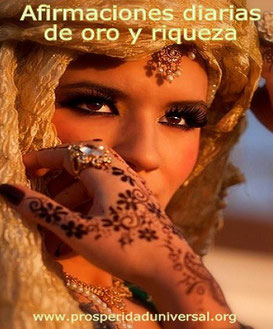 EL SECRETO DE CREAR ORO Y RIQUEZA- AFIRMACIONES DIARIAS - PROSPERIDAD UNIVERSAL - PENSAMIENTO POSITIVO- www.prosperidaduniversal.org
