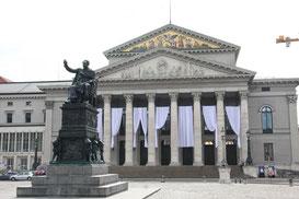 Königsplatz München Nationaltheater
