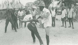N'Golo, lutte à l'origine de la capoeira_ceca