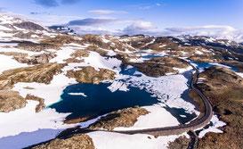 Norwegen Drohne Luftaufnahme Phantom 4