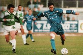 Face au Red Star . Franck Burnier (G.Baldocchi)
