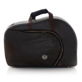 brauner Koffer für Waldhorn im Vintagelook