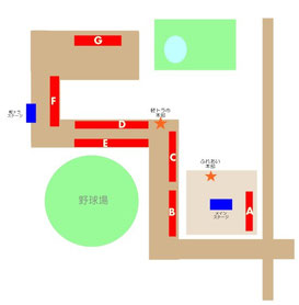 軽トラ市会場略図
