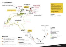 Streckenplan Hemberg
