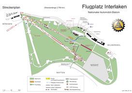Streckenplan Interlaken