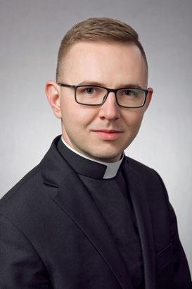 Seminarist Mateusz Krzysztof Kadziola