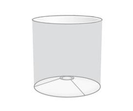 Tischlampenschirm rund zylindrisch