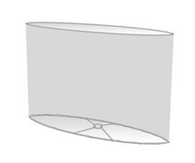 Lampenschirme Ellipse oval Design