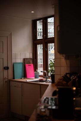 Unsere Küche, die wir benutzen durften