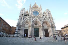 """Der """"Aufstieg"""" lohnt sich aber, da Siena viel Kultur zu bieten hat!"""