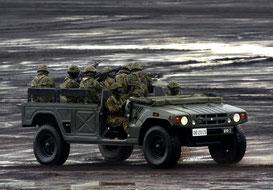 自衛隊 車両