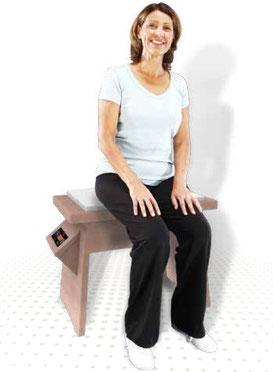 Galileo Therapie auf Galileo Med Chair