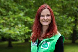 Gebietsbetreuerin Verena Rupprecht, Foto: LBV