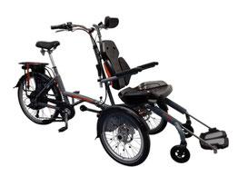 Van Raam Spezial-Dreirad O-Pair Rollstuhlrad finanzieren mit 0% Zinsen bei den Dreirad Experten vom Dreirad-Zentrum - Dreiräder und Elektro-Dreiräder für Erwachsene
