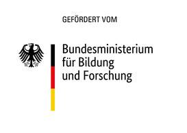 Das Logo vom Bundesministerium für Bildung und Forschung, welches dieses Projekt fördert.