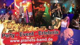 Planet'S - eine der erfolgreichsten Partybands Deutschlands aus dem Raum Köln in NRW