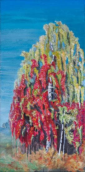 Herbst 1, Acryl, Leinwand