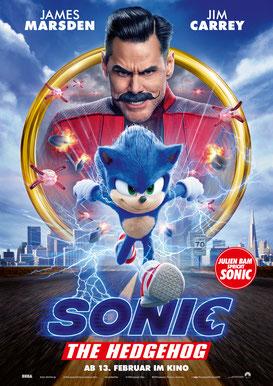 Sonic The Hedgehog Plakat