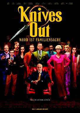 Knives Out Plakat