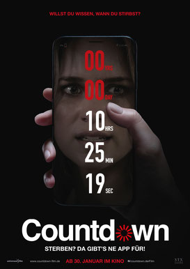 Countdown Plakat