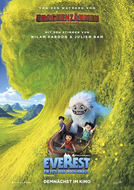 Everest - Ein Yeti will hoch hinaus Hauptplakat