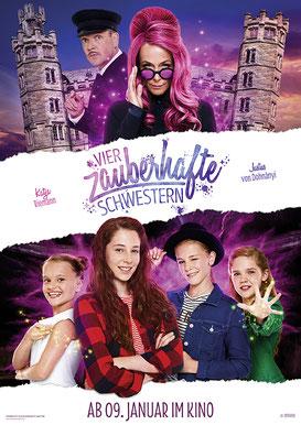 Vier zauberhafte Schwestern Plakat