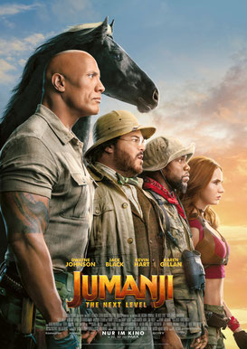 Jumanji The Next Level Plakat