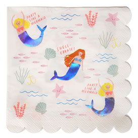 DECO ANNIVERSAIRE SIRENE - MERMAID PARTY BIRTHDAY DECORATION