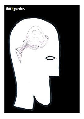 Blitzgarden Cartoon für Menschenkenner-Mkt. Oli Kock: Taschentuch mit Knoten als Gedächtnis