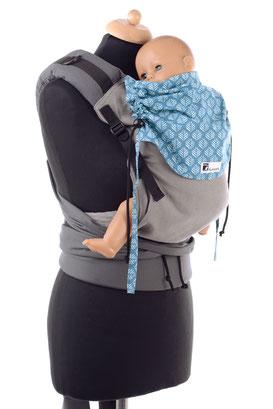 Anleitung Babytrage, Huckepack Half Buckle, Bauchtrage, Rückentrage, Hüfttrage, Videoanleitung