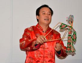 Yang Dengyi (Schattenfiguren) aus Qingyang
