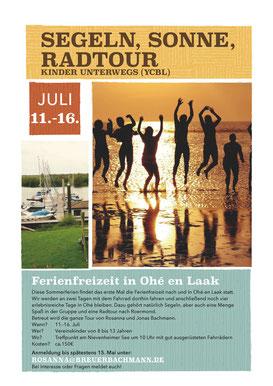 Ferienfreizeit Ohé en Laak 11.-16. Juli 2016