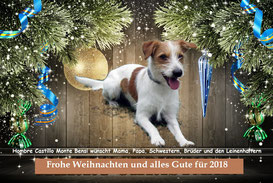 Hombre wünscht frohe Weihnachten
