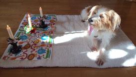 Cora am 3. Geburtstag