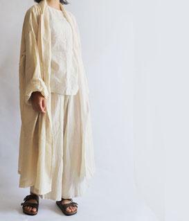 ヂェン先生の日常着 薄衣ロングカーディガン