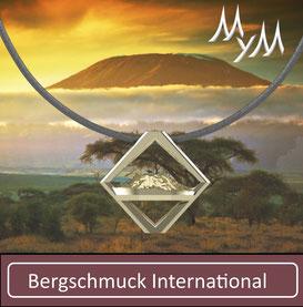 Bergschmuck Collier Kette International Kilimanjaro