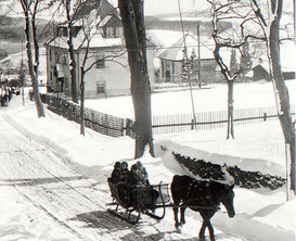 Bild: Teichler Wünschendorf Erzgebirge Turngarten Winter