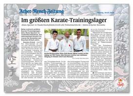 Karate Erlach, Kata-Spezial 2018
