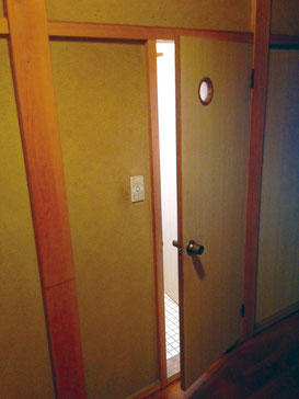 ドアの取り替え 改修前