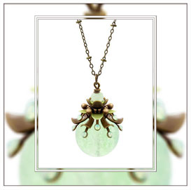 Primella ° The Precious Sproud ° Luminous Necklace * Designed and Manufactured by Elfgard® Germany