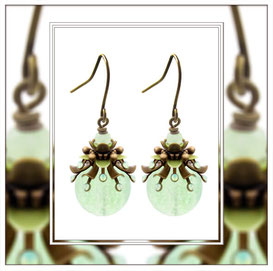 Primella ° The Precious Sproud ° Luminous Earrings * Designed and Manufactured by Elfgard® Germany
