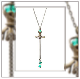 Sofia ° The Fine Soul ° Floating Flower Necklace * Designed and Manufactured by Elfgard® Germany