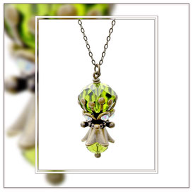 Birthe ° The Calm Spirit ° Rhinestone Necklace * Designed and Manufactured by Elfgard® Germany