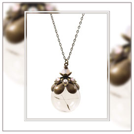 Jonna ° The Infinit Lightness ° Dandelion Seed Necklace * Designed and Manufactured by Elfgard® Germany